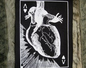 Black Hearted Patch