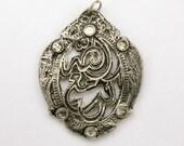 SALE - Steampunk Princess of Persia Huge Stunning Pendant