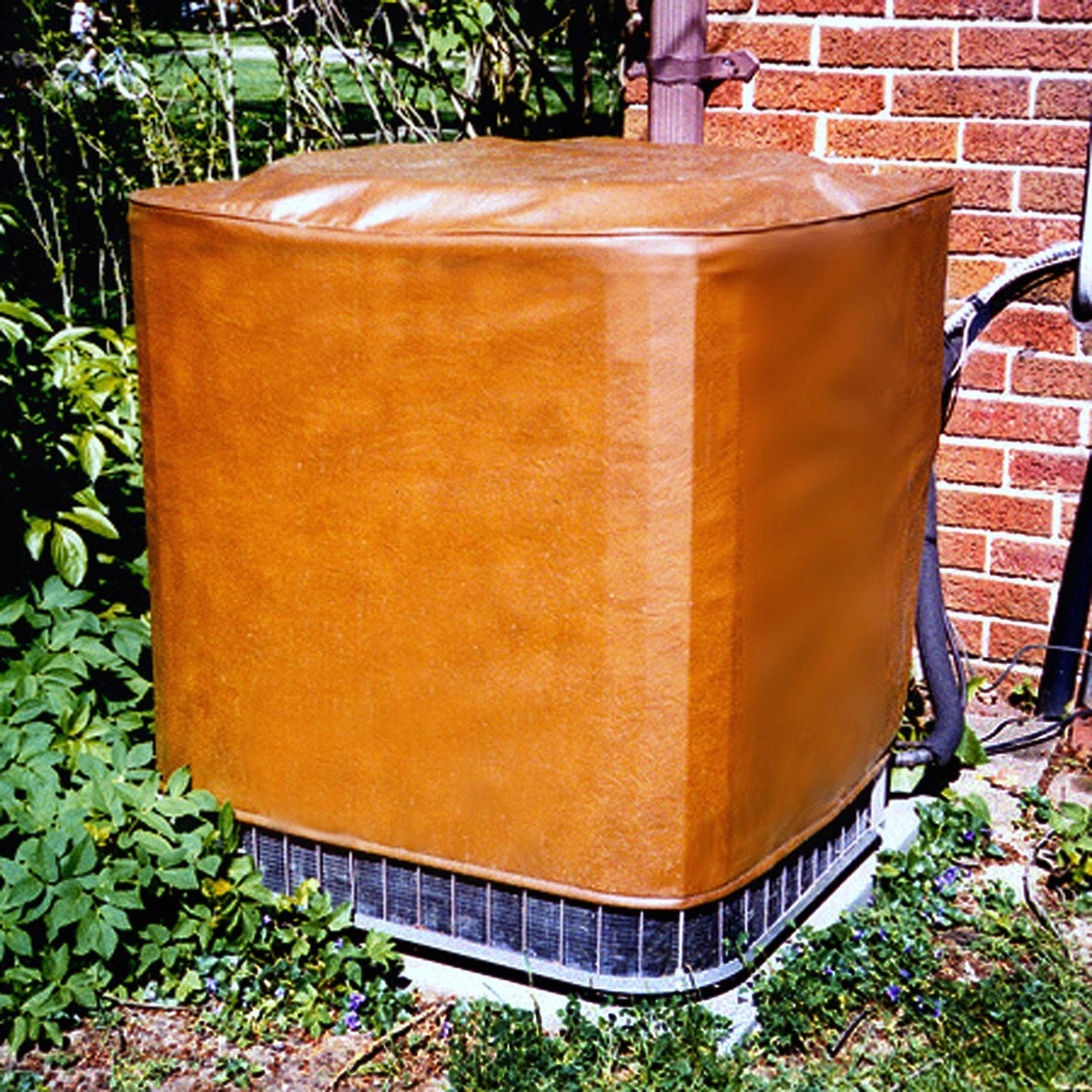 Custom made air conditioner cover for Central air conditioner covers exterior