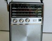 Arvin Transistor Marine Band Radio