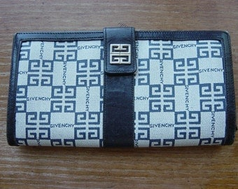 vintage 70s givenchy clutch wallet