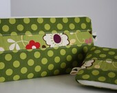 FREE Personalization for a Limited Time--Cosmetic Makeup Bag - Green With Envy - Made to Order