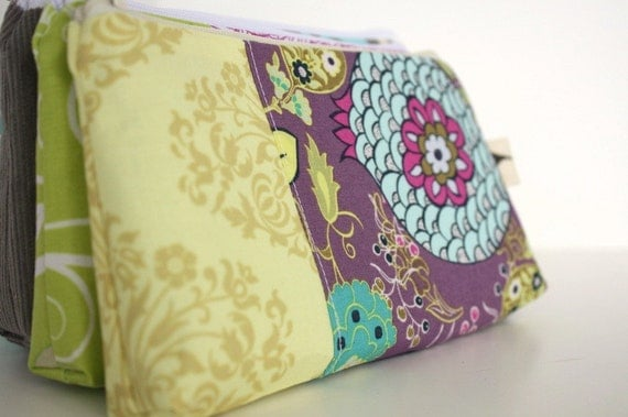 Perfect Purse Pouch - Dawn - Handmade - Made to Order