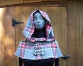 Steampunk wool Hood