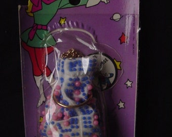 1971 Penelope Pitstop Beaded Purse - Dime store toy in package