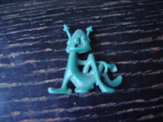 Astro-Nit Cracker Jack prize Knot-nit R and L plastics 1960s