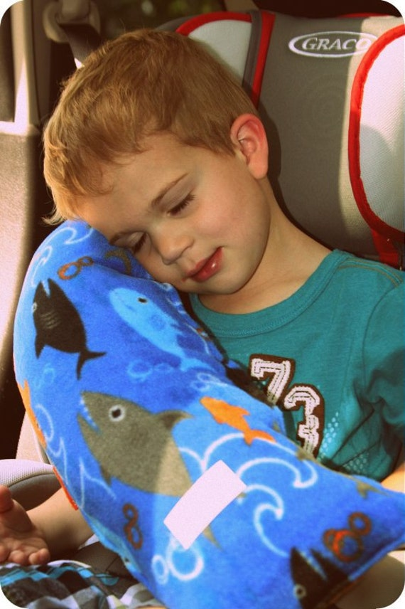 Car Seat Pillow- Travel Pillow- Toddler Pillow