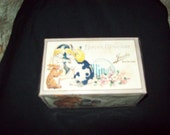 Vintage Easter Gladness Jacobs New Orleans Ilb Candy Box