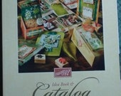 Stampin Up 2002 2003 Idea Book and Catalog