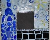 Cheers Blue Bottle 10x10 Mosaic Mirror