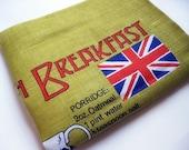 British Breakfast Tea Towel by mailordervintage on etsy