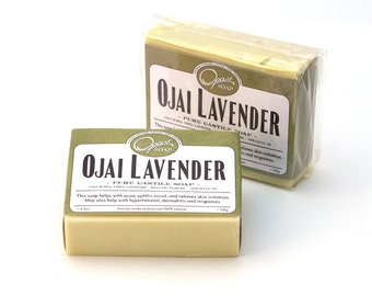Ojai Lavender Soap 100% Olive Oil LIMITED quantities