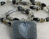 SALE Angel Wing Necklace