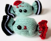 Knit your own Creepy Halloween candy - ZOMBIE (pdf)
