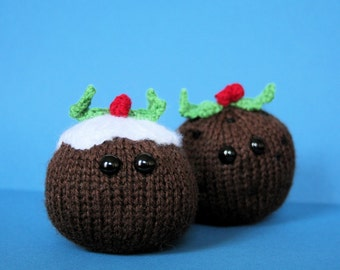 Amigurumi Christmas Pudding
