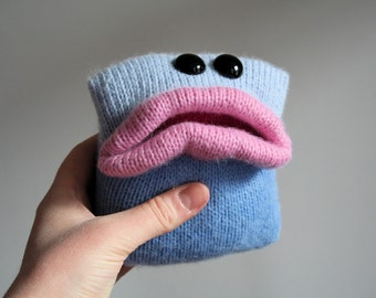 Knit your own Square-Bellied Monsters (pdf knitting pattern)