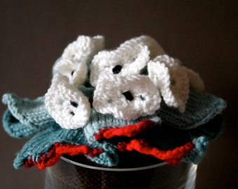 Knit your own zombie pot plant (pdf knitting pattern)