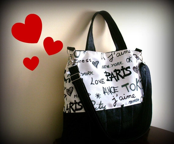 J ' AIME Paris Tote Bag
