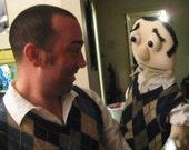 MePuppet, custom puppet, portrait puppet, personalized muppet