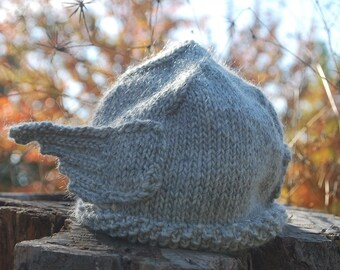 Ready to Ship New and Original Handmade Storm Grey Warm Knit Thor Helmet for Men or Women