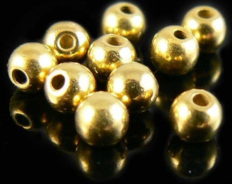 3mm gold plated memory wire ends, 12 or 24 pcs