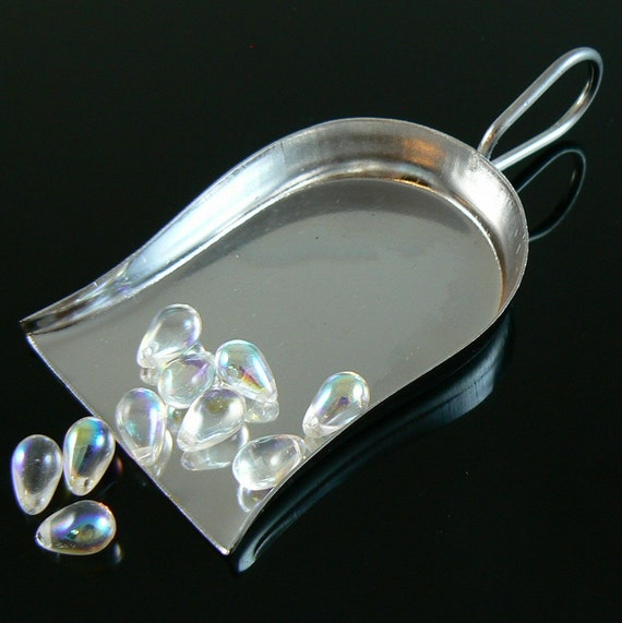 2.25 inch chrome plated bead and gem scoop