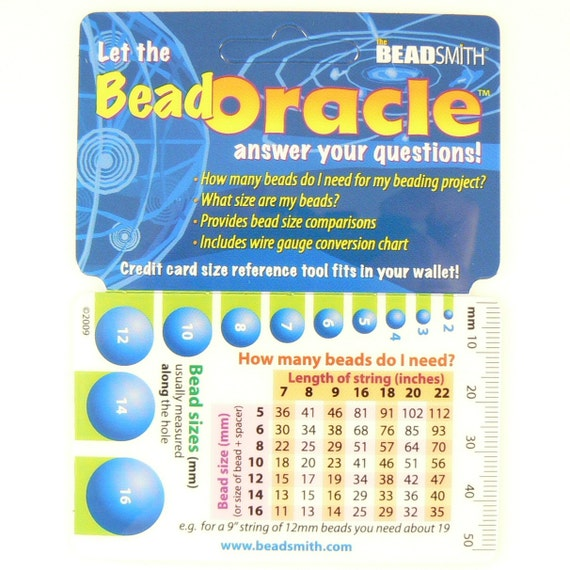 Bead oracle quick reference card from mysuppliessource on etsy studio keyboard keysfo Choice Image
