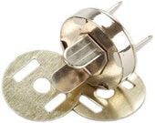 Magnetic Closure Snaps - 33 Sets 18mm NICKEL - Great for Purses Wallets Totes - CLEARANCE PRICE