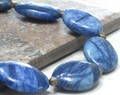 SPRING SALE Navy Necklace, Blue Necklace Chunky Necklace Fashion Jewelry Under 25 - Dark Skies