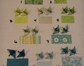 Origami Bird Earrings - Paper choices