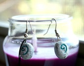 Hearthstone Earrings and charm