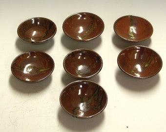 ceramic porcelain pottery bowls for kitchen - mise-en-place - dipping bowls