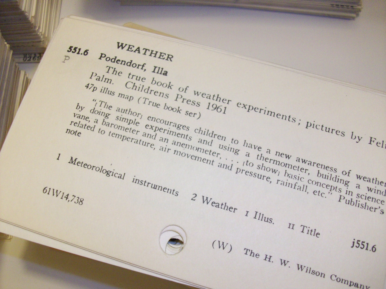 Lot 200 Vintage Library Card Catalog Dewey Decimal System