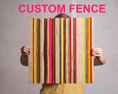 CUSTOM fence- Made to Order
