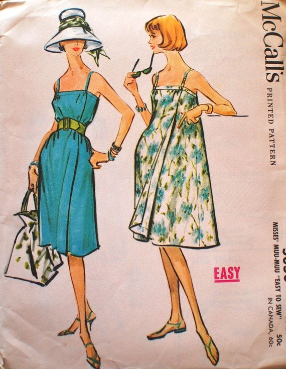 1950s McCall's Vintage Sewing Pattern 5050 Large 18-20