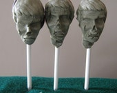 ZOMBIE POPS, The head on a stick you're dying to consume, Quantity 3