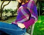 Blueberry sweater