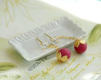 Petite fruite earrings