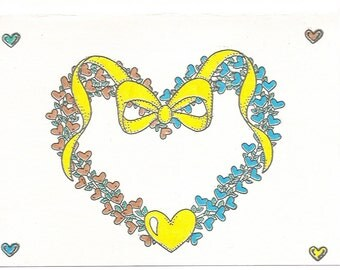 Large Heart of Hearts with Tiny Hearts