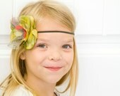 You and Me POPPY Flower Headband - Matilda Jane Inspired Made to Match M2M (Light Bright, Mac, Jasmine)