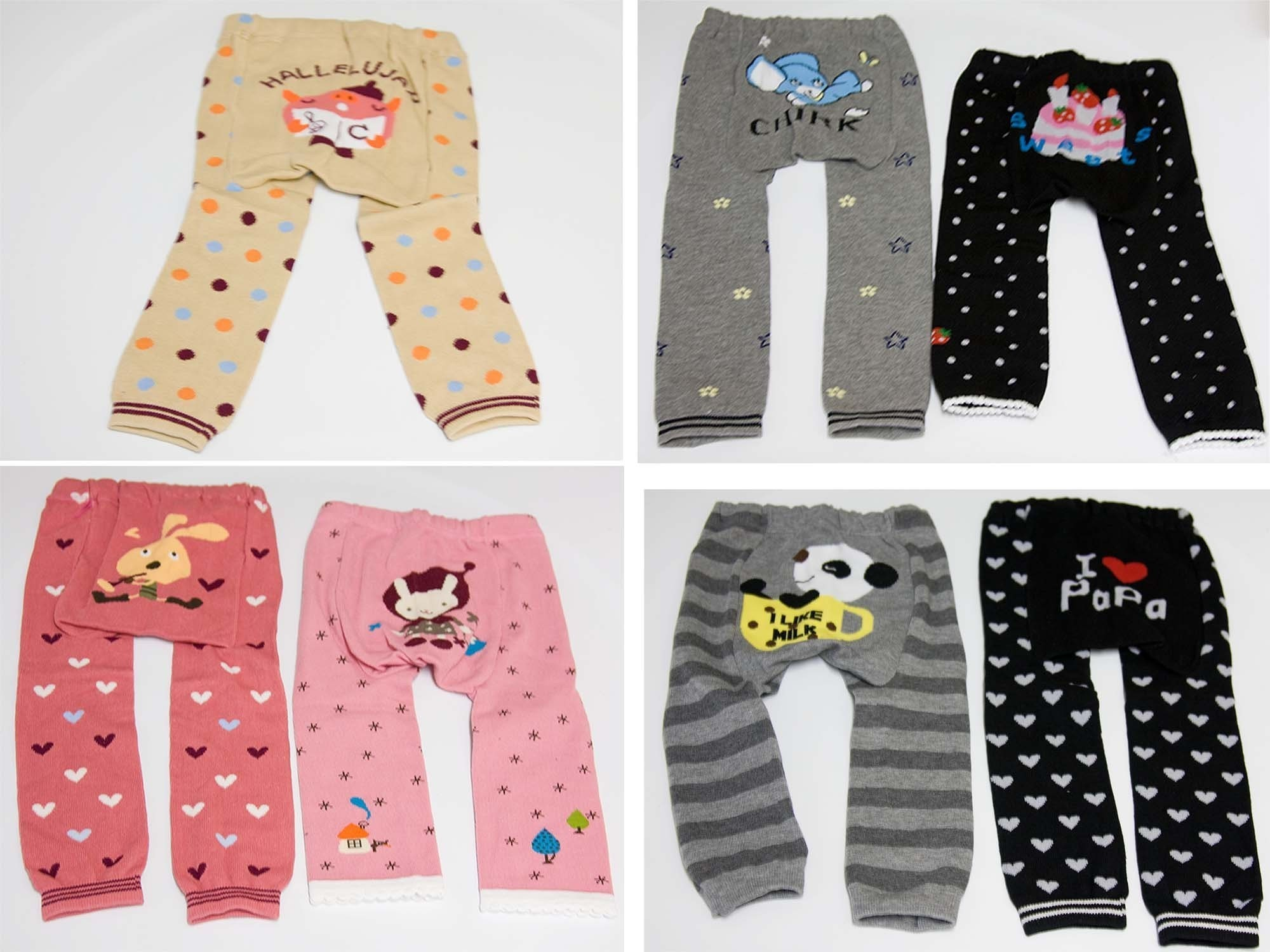 Baby Leggings Footless Tights SO MANY CUTE PRINTS AVAILABLE