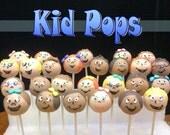 Kid Cake Pops--Two dozen
