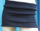 Jet Black Hipband Bodywrap Skirt Belly Band