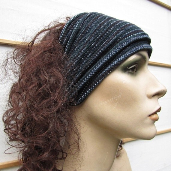 Headwraps Black Gray set 2 Midis