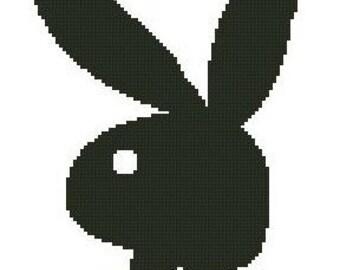 Playboy Bunny Cross Stitch E-Pattern