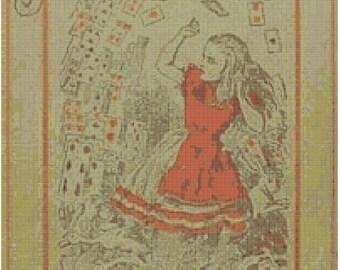 Alice in Wonderland Cross Stitch Kit
