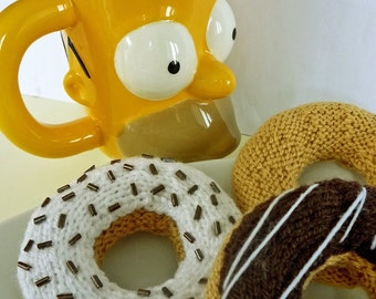 KNITTING PATTERN for DONUT pdf