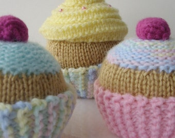 KNITTING PATTERN for CUPCAKE pdf