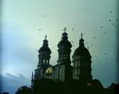 Gloomy church in Transylvania - Signed Fine Art Photographic Print -