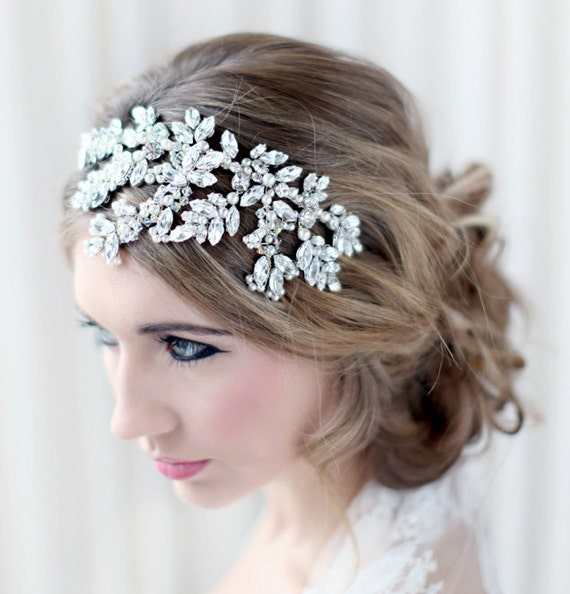 Verity statement bridal headdress for wedding